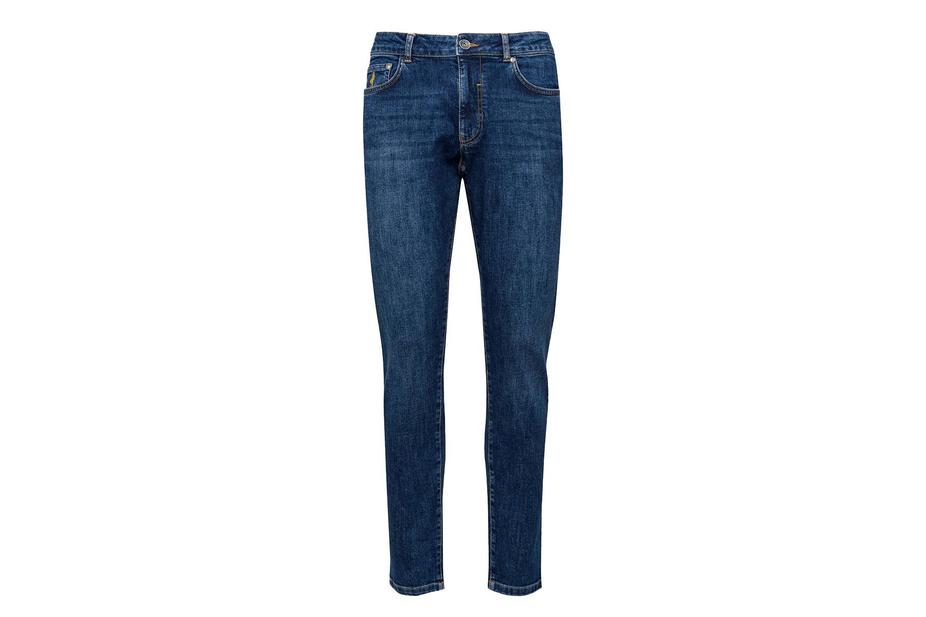 MCS Jeans Cinque Tasche Nero